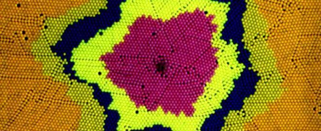 Formação de padrões em meios granulares